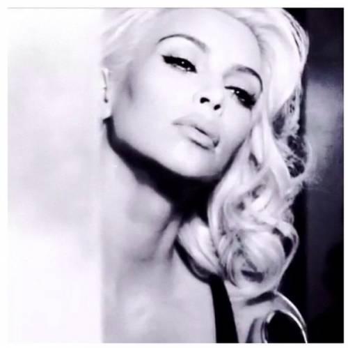 Kim Kardashian come Marilyn Monroe su Instagram 3