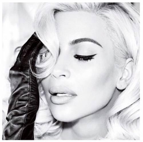 Kim Kardashian come Marilyn Monroe su Instagram 2