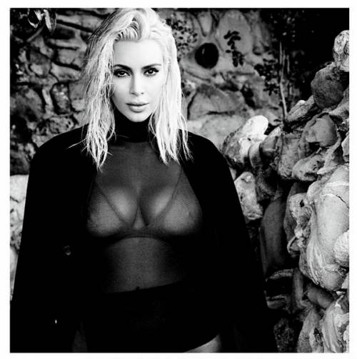 Kim Kardashian come Marilyn Monroe su Instagram 6