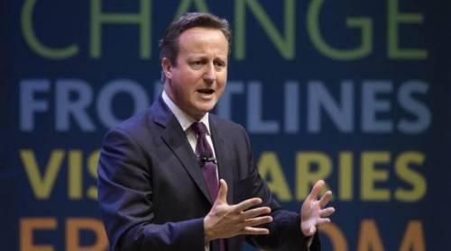 David Cameron in vendita su eBay