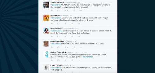Dario Franceschini contestato su Twitter 11