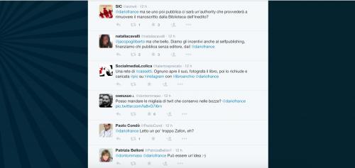 Dario Franceschini contestato su Twitter 13