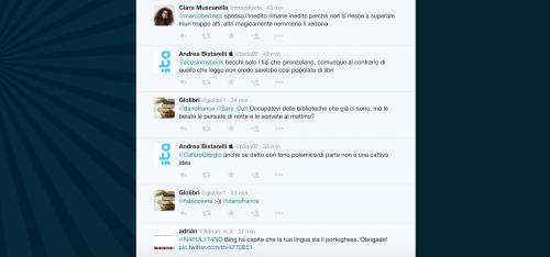 Dario Franceschini contestato su Twitter 14