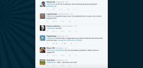 Dario Franceschini contestato su Twitter 17