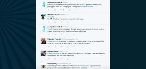 Dario Franceschini contestato su Twitter 18