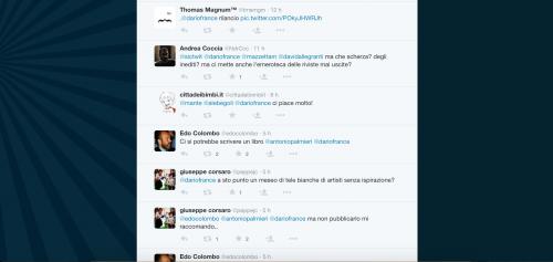 Dario Franceschini contestato su Twitter 19