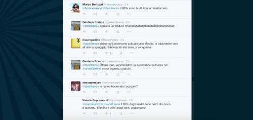 Dario Franceschini contestato su Twitter 20