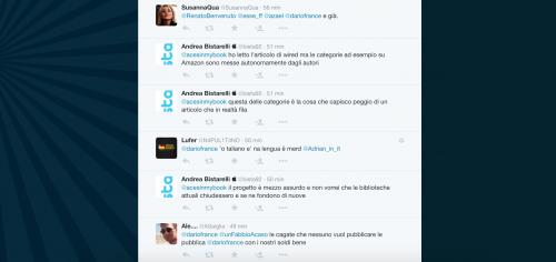 Dario Franceschini contestato su Twitter 23