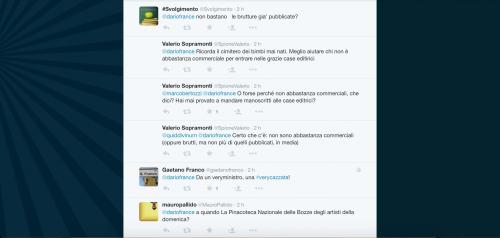Dario Franceschini contestato su Twitter 26