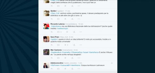 Dario Franceschini contestato su Twitter 25