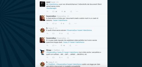 Dario Franceschini contestato su Twitter 29