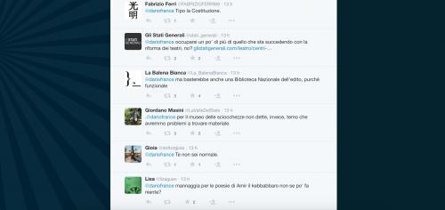 Dario Franceschini contestato su Twitter 31