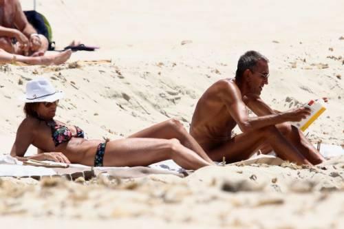 Il topless di Cristina Parodi a Formentera 3