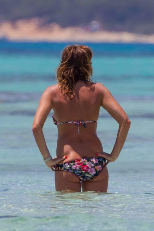 Il topless di Cristina Parodi a Formentera 6