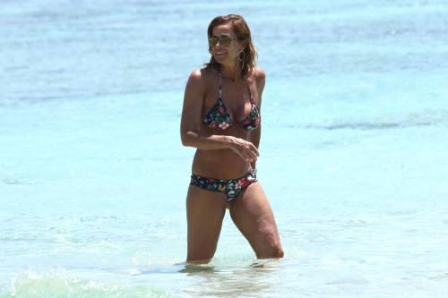 Il topless di Cristina Parodi a Formentera 9