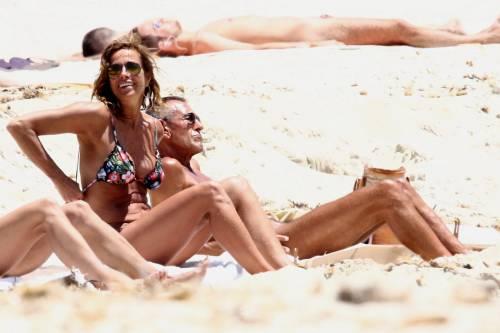 Il topless di Cristina Parodi a Formentera 14