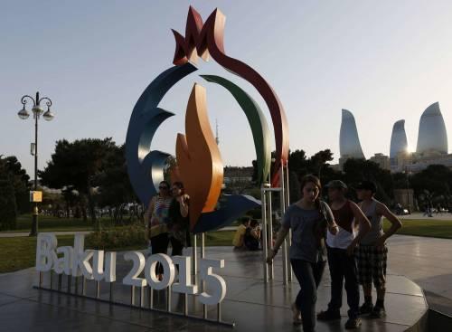 A Baku iniziano gli inutili Giochi europei