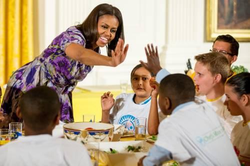 Michelle Obama in visita a Expo il 17 e il 18 giugno