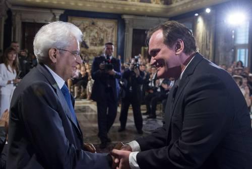 """Mattarella usa Tarantino per attaccare Renzi: """"All'Italia non basta Mr Wolf"""""""
