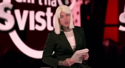 """Fedez, il video di """"Non c'è due senza trash"""" contro Barbara D'Urso 10"""
