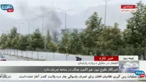 Afghanistan, sotto attacco il parlamento