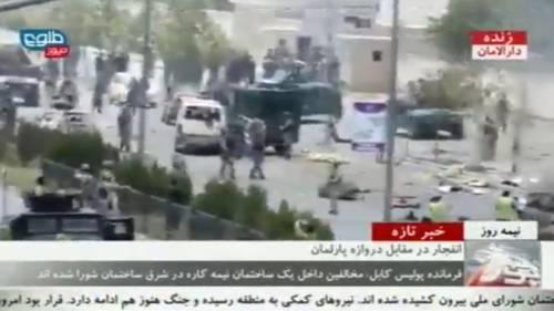 Il parlamento afgano sotto attacco 1