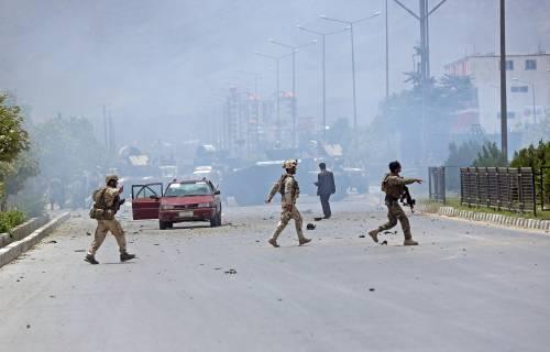 Il parlamento afgano sotto attacco 2