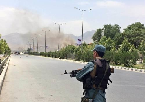 Il parlamento afgano sotto attacco 3