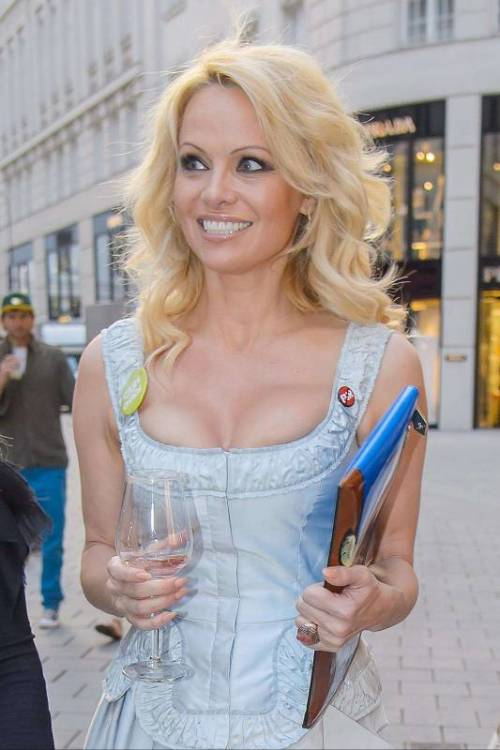 Pamela Anderson sexy e impegnata 32