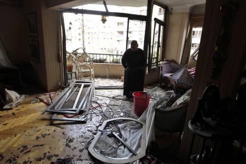 Il luogo dell'attentato contro Barakat 2