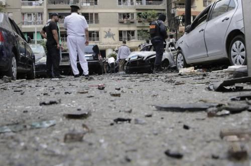 Il luogo dell'attentato contro Barakat 3