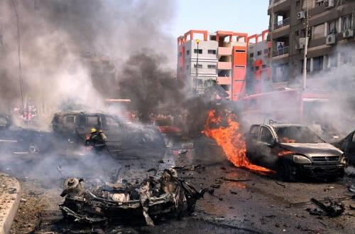 Il luogo dell'attentato contro Barakat 4