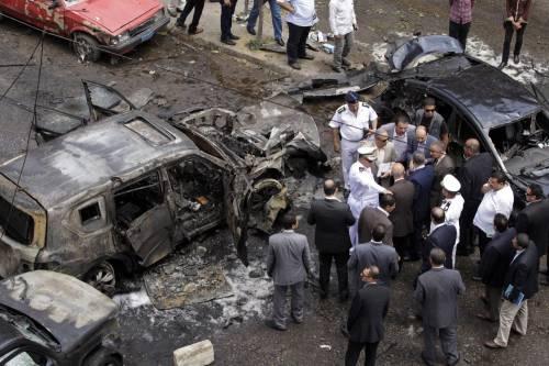 Il luogo dell'attentato contro Barakat 9