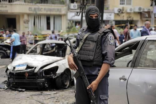Il luogo dell'attentato contro Barakat 12