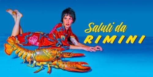 Le cartoline di Cattelan a Rimini 2