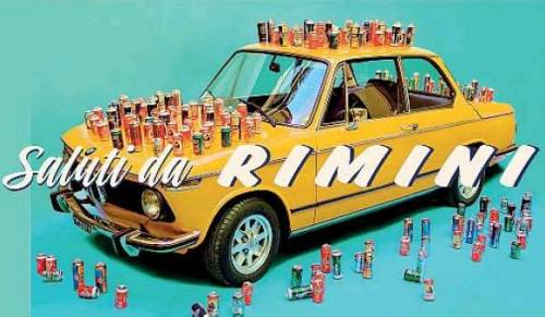 Le cartoline di Cattelan a Rimini 3