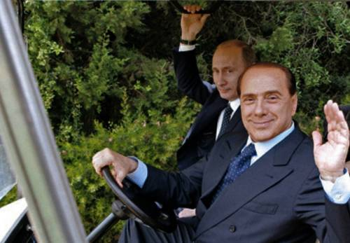 Il fronte estero di Berlusconi: pronto a tornare da Putin