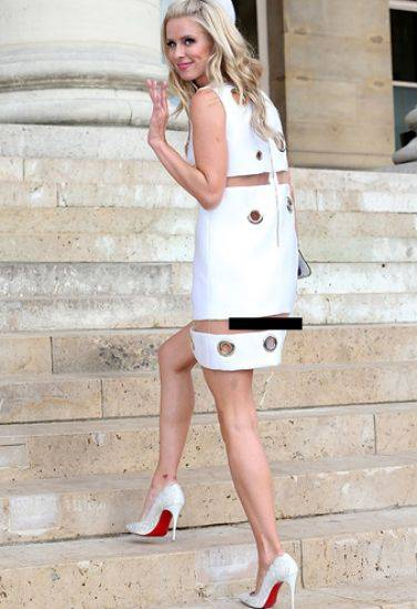 Nicky Hilton: abito bianco sexy ma sobrio per la sorellina di Paris  18