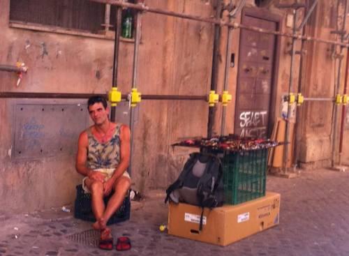 Scene di vita quotidiana a Roma 9