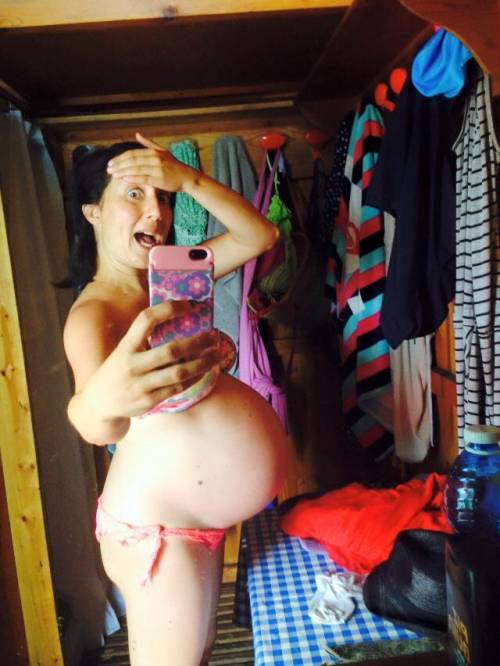 Pamela Petrarolo: selfie con pancione e bikini, a giorni il parto 7