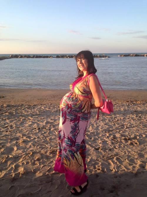 Pamela Petrarolo: selfie con pancione e bikini, a giorni il parto 15