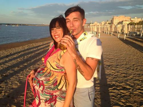 Pamela Petrarolo: selfie con pancione e bikini, a giorni il parto 13