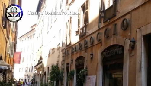 Roma, il blitz della Dia