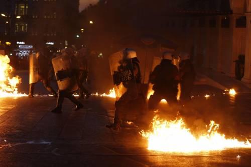 Gli scontri in piazza Syntagma 2