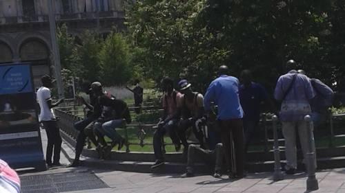 Gli africani arrestati ieri, liberi dopo nemmeno 24 ore 1