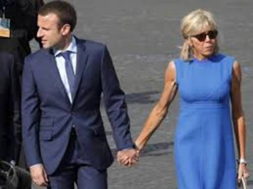 Macron e sua moglie: la prof del liceo 2