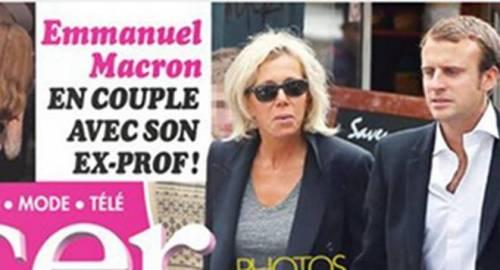 Macron e sua moglie: la prof del liceo 4