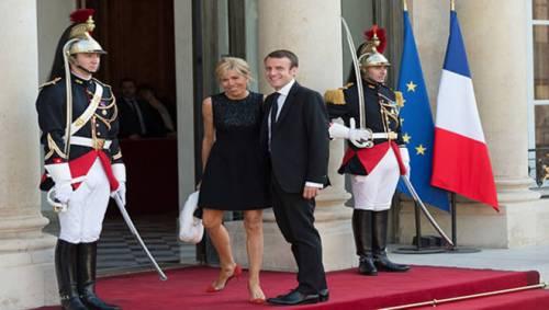 Macron e sua moglie: la prof del liceo 3