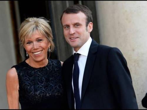 Macron e sua moglie: la prof del liceo 5