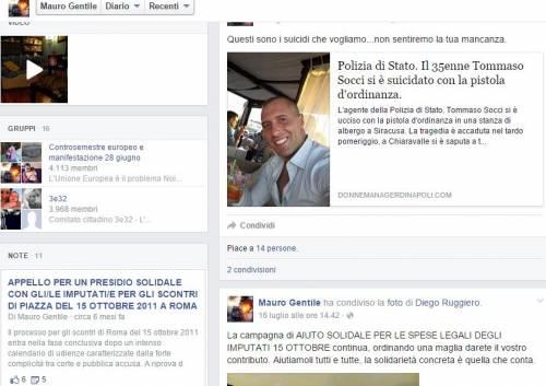 "I post su Facebook di Mauro Gentile: ""Suicidatevi"" 2"